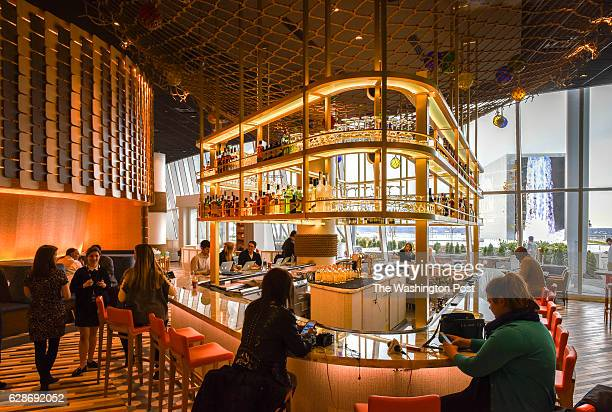 Restaurant launch stock photos and pictures getty images for Fish restaurant mgm