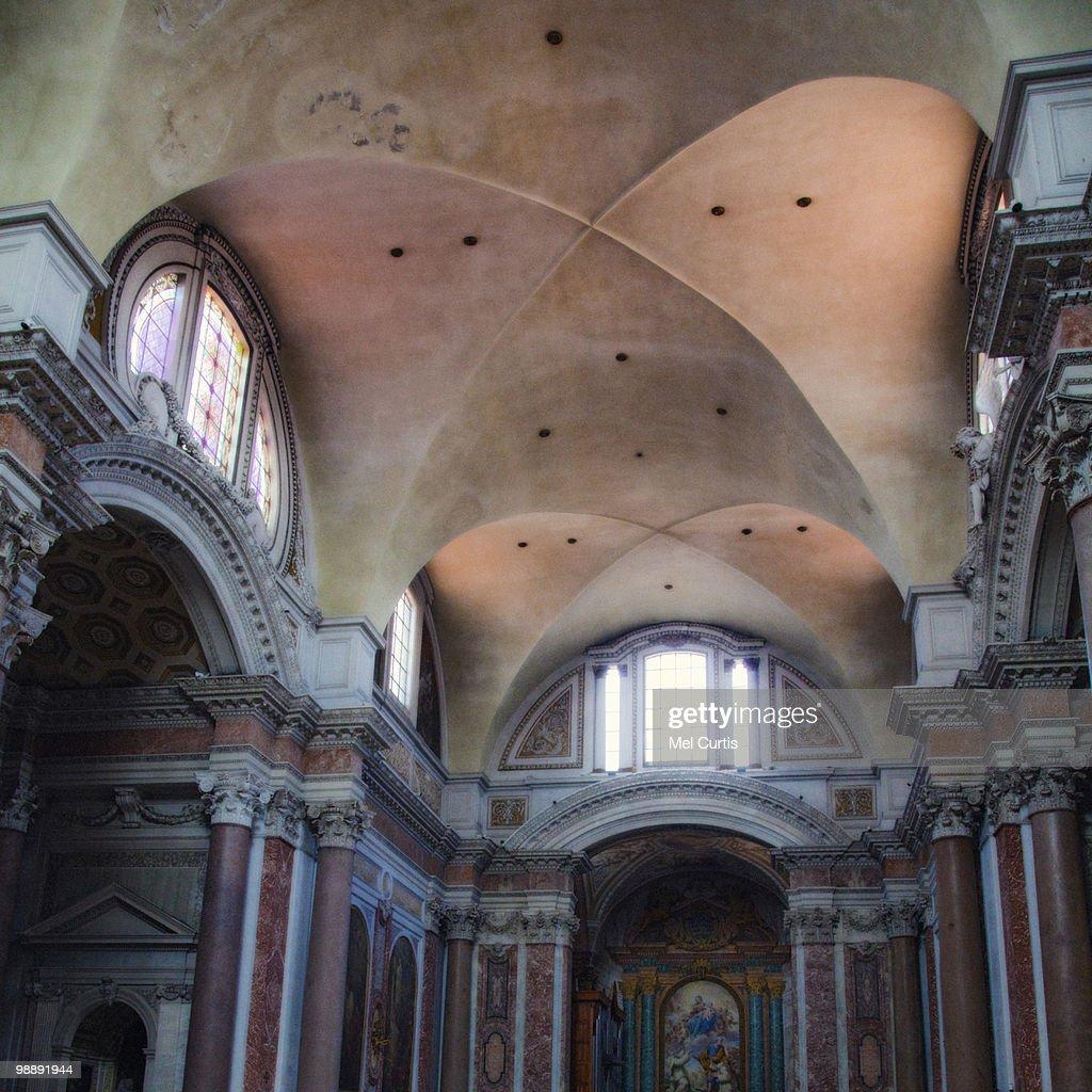 Interior view of Santa Maria degli Angeli