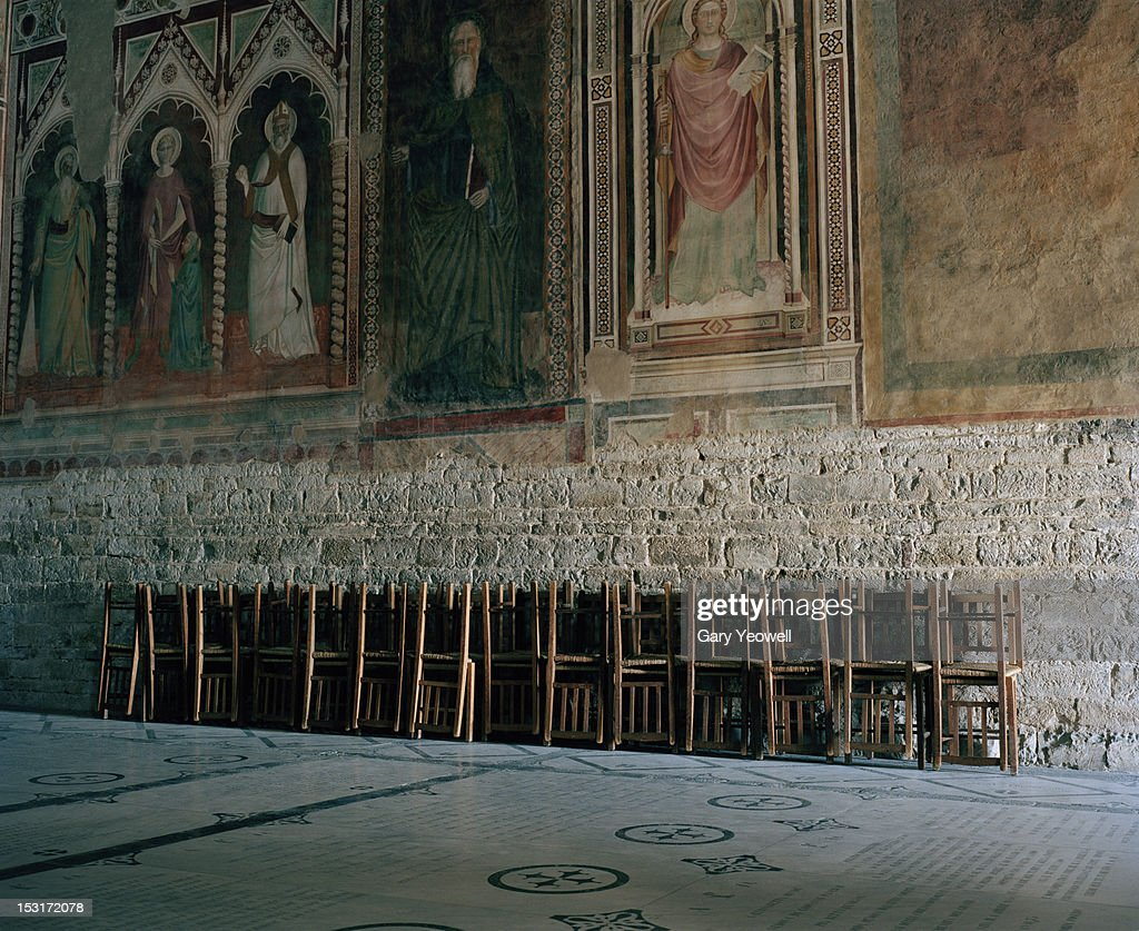Interior view of Siena Cathedral : Stock Photo
