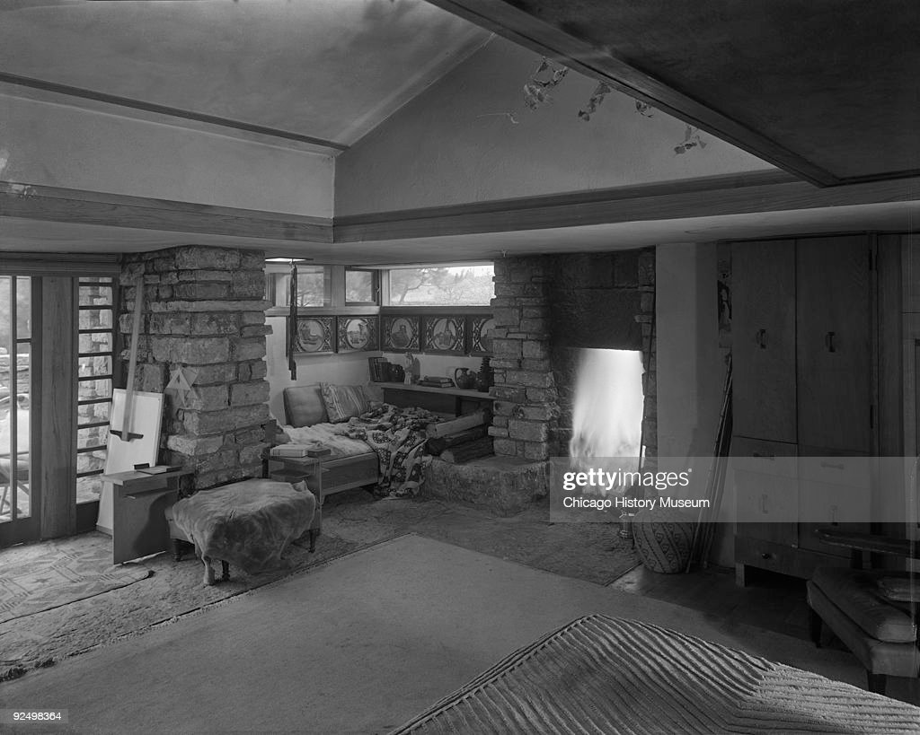 taliesin east u0027s living room pictures getty images