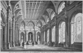 Interior view of the Clothworkers' Hall Mincing Lane City of London 1856