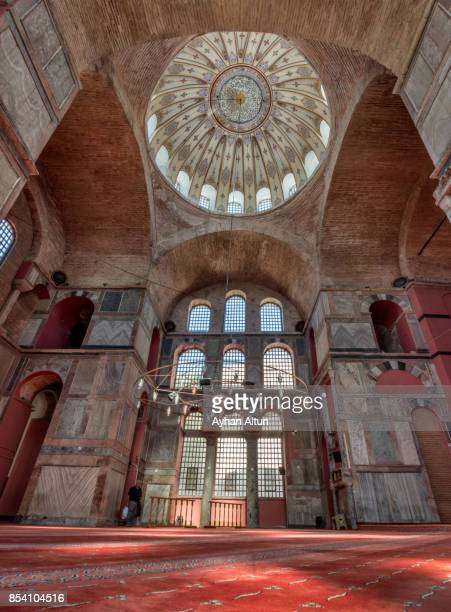 Interior view of The Kalenderhane Mosque in Istanbul,Turkey