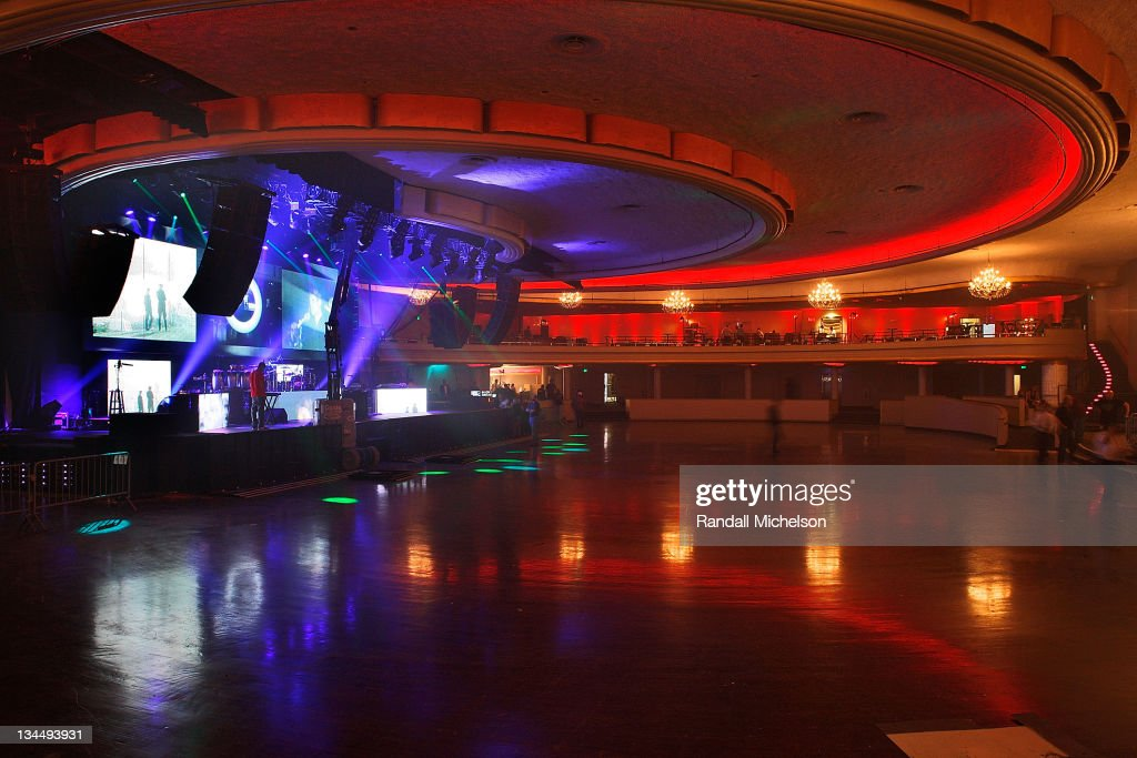 Interior view of the newly restored Hollywood Palladium at its Grand Reopening with a Special Performance by Jay-Z on October 15, 2008 in Hollywood, California.