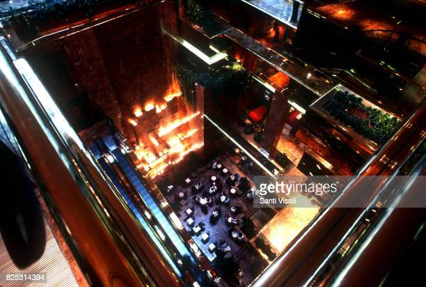 Interior view of the Trump Tower on January 10 1985 in New York New York