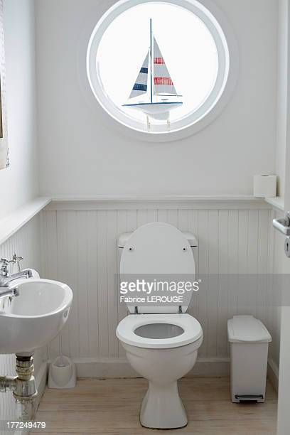 Interiors of a bathroom