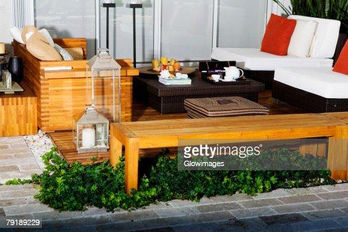 Interiors of a living room : Foto de stock
