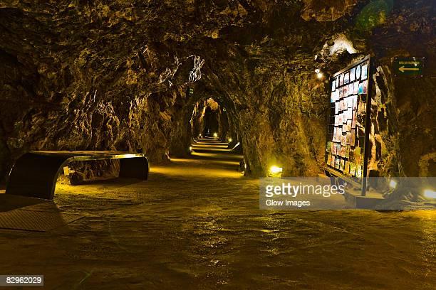 Interiors of a mine, Mina El Eden, Zacatecas, Mexico