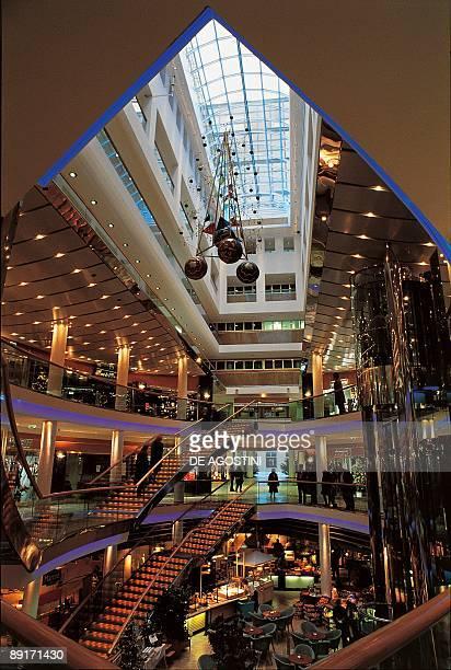 Interiors of a shopping mall Ringstrassen Galerien Vienna Austria