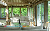 interiors of new country house