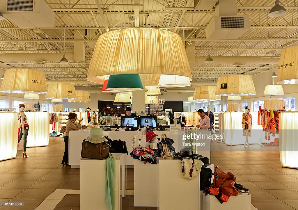 Interiors of 'That's Italy' clothing shop in Vaughan.