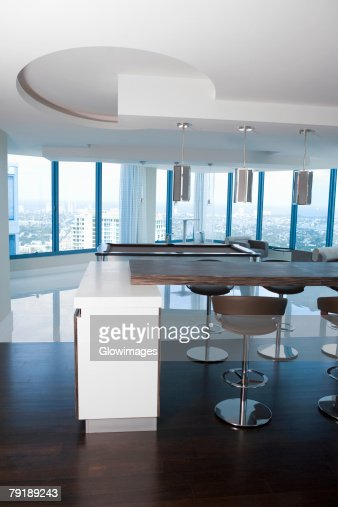 Interiors of the hall of a hotel : Foto de stock