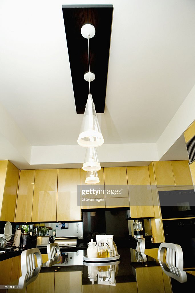 Interiors of the kitchen : Foto de stock