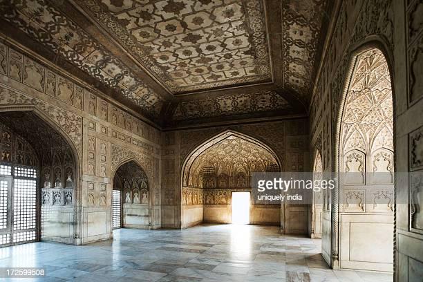 Interiors view of Khas Mahal, Agra Fort, Agra, Uttar Pradesh, India