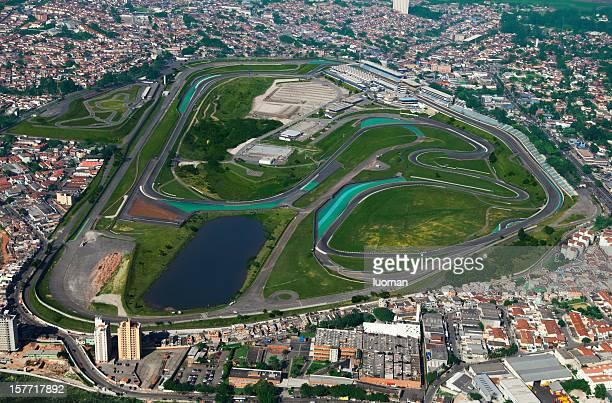 Interlagos racetrack in Sao Paulo