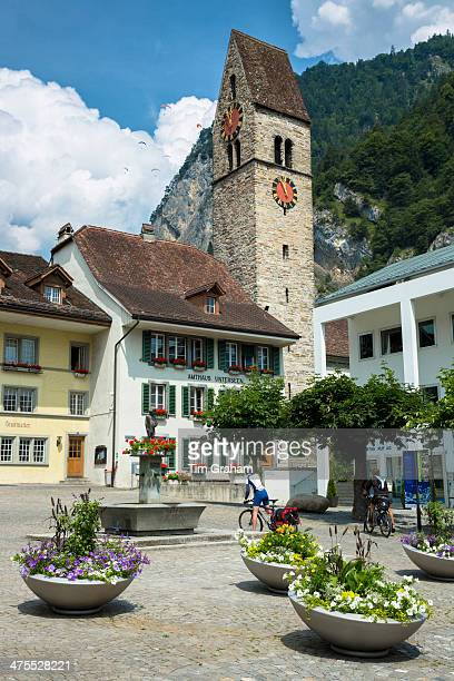 Interlaken in Swiss Alps