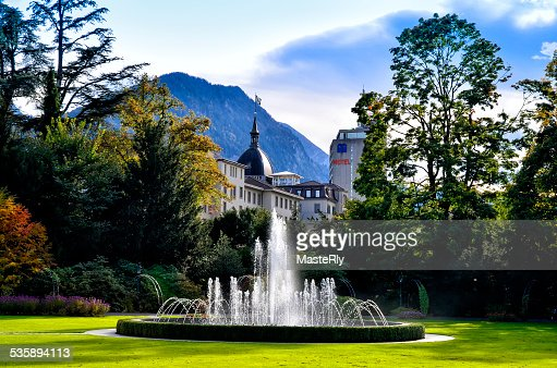 Interlaken : Foto stock