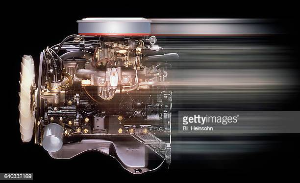 internal combustion car, auto engine