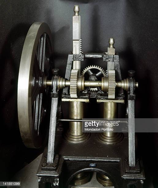Internal combustion engine invented by Italian physicist and choir chancel Eugenio Barsanti in 1854