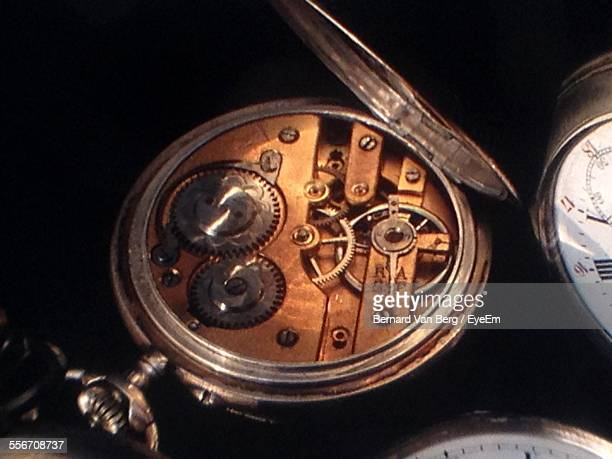 Internal Mechanism Of Pocket Watch