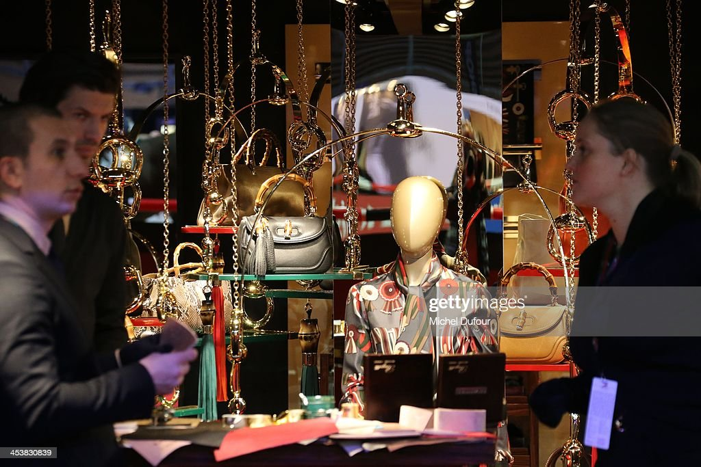 Internal view of the Gucci master at Paris Nord Villepinte on December 5, 2013 in Paris, France.