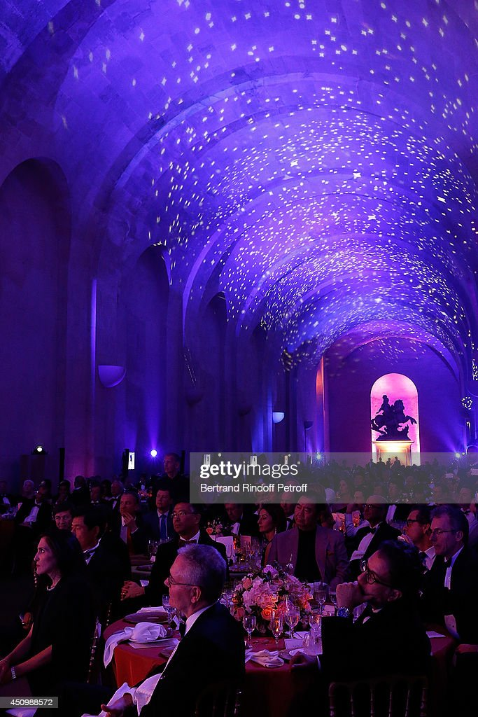 Internal View of the L'Oreal Gala Evening 2014 at Chateau de Versailles on June 20, 2014 in Versailles, France.