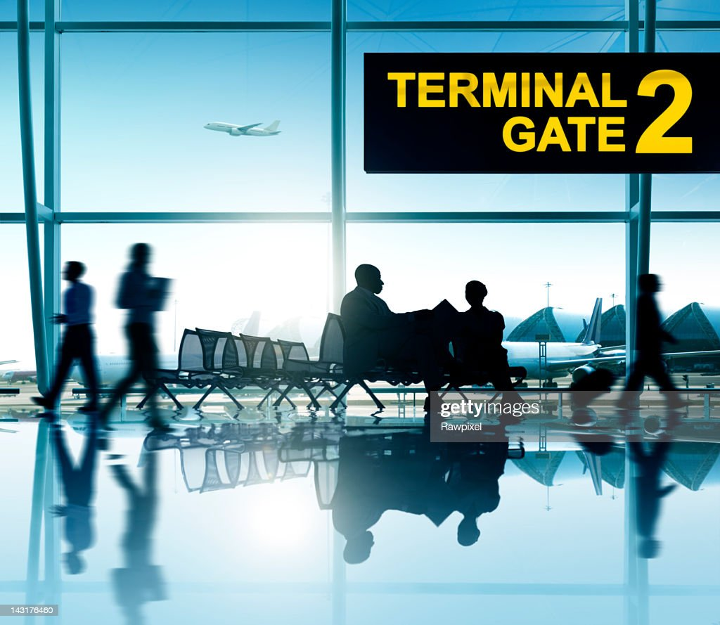 International Airport. : Stock Photo