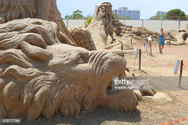 International Antalya Sand Sculpture Festival which is among the worlds largest sand sculpture events welcomes its visitors for the 9th time in...