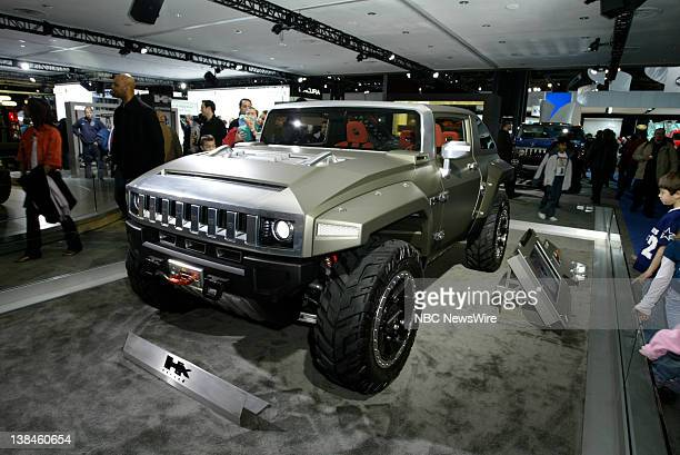 Cars on display at the New York International Auto Show at the Jacobs Javits center in Manhattan NY on March 21 2008