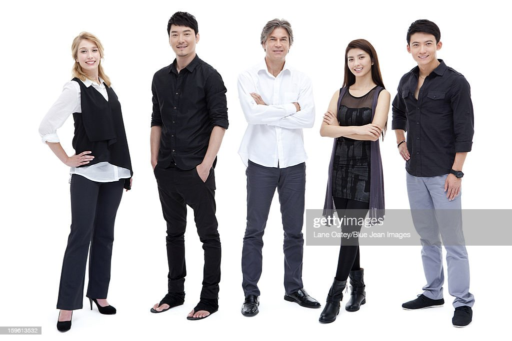 International business team : Stock Photo
