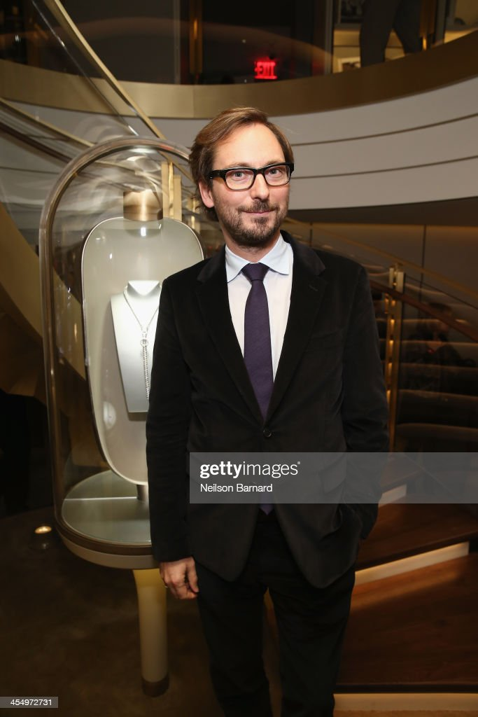 International CEO of Van Cleef & Arpels Nicolas Bos attends the unveiling of Van Cleef & Arpels redesigned New York 5th Avenue Flagship Maison at Van Cleef & Arpels on December 10, 2013 in New York City.