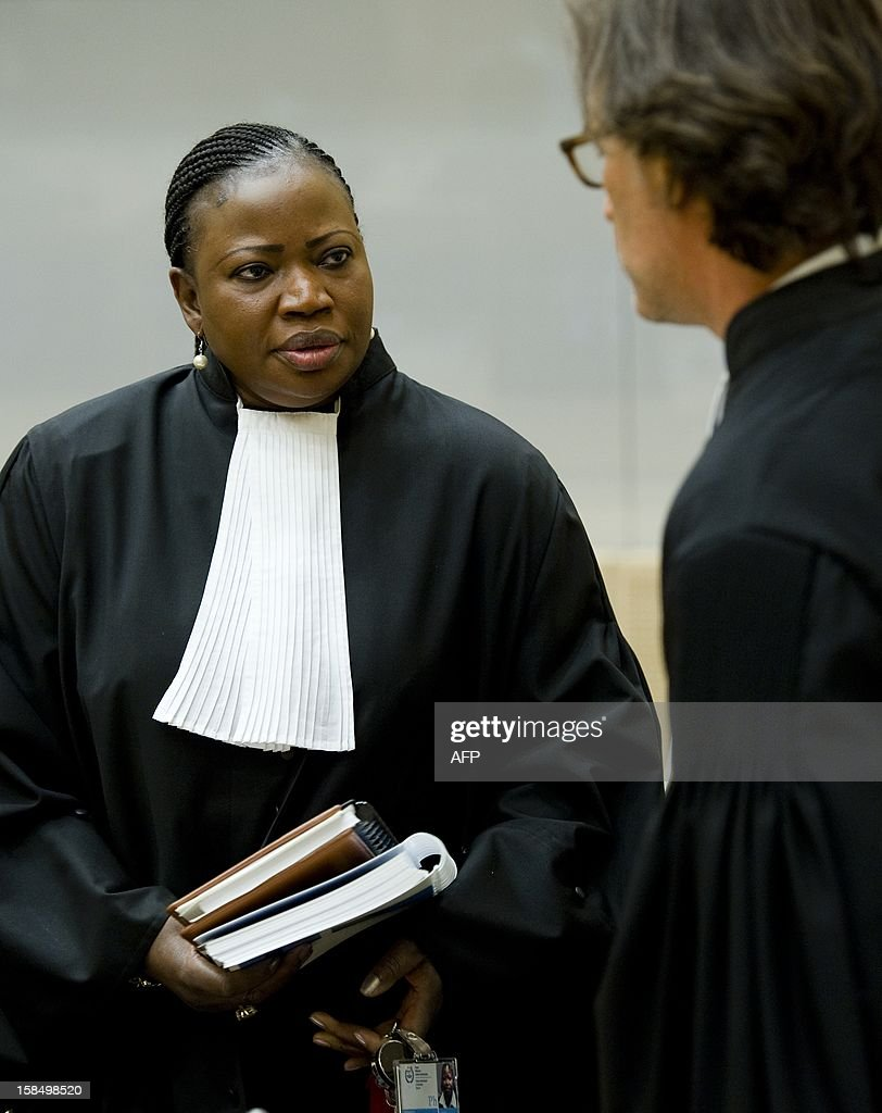 International Criminal Court chief prosecutor Fatou Bensouda from Mali is pictured before the verdict on Congolese ex-militia boss Mathieu Ngudjolo Chui's trial at the International Criminal Court (ICC) in The Hague on 18 December 2012, accused of using child soldiers in a 2003 attack on a village in the Democratic Republic of Congo, killing 200 people. The ICC acquitted Ngudjolo of war crimes.