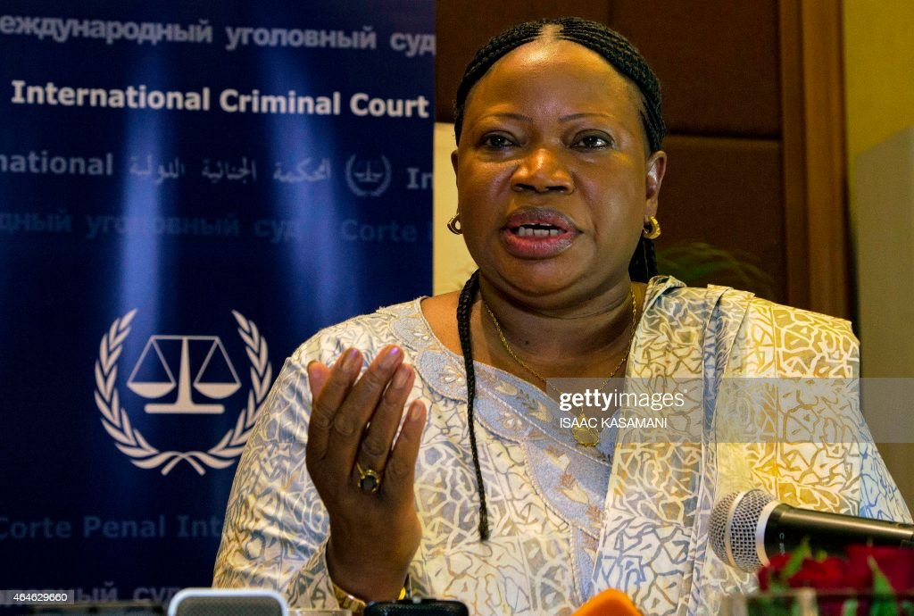 International Criminal Court's prosecutor (ICC), <a gi-track='captionPersonalityLinkClicked' href=/galleries/search?phrase=Fatou+Bensouda&family=editorial&specificpeople=802492 ng-click='$event.stopPropagation()'>Fatou Bensouda</a>, addresses a press conference in Kampala on February 27, 2015. The International Criminal Court's prosecutor said today that the evidence against Dominic Ongwen is incomplete and more time is needed to gather evidence against a Ugandan rebel commander who faces trial at The Hague court.