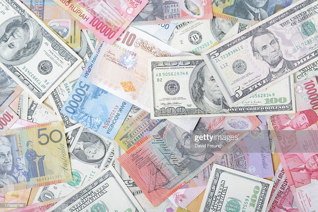 International Currencies : Stock Photo