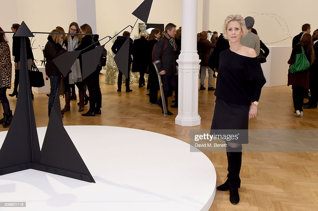 International Director Elizabeth Esteve attends The Calder Prize 2005-2015 presented by Pace London And The Calder Foundation, on February 11, 2016 in London, England.