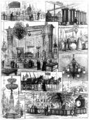 International Electric Exhibition at the Crystal Palace 1882 Illustration taken from the 'Illustrated London News' Most of the illustrations are from...
