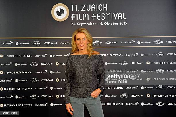 International Feature Film Jury member Maria Furtwaengler attends the Jury Photocall during the Zurich Film Festival on October 1 2015 in Zurich...