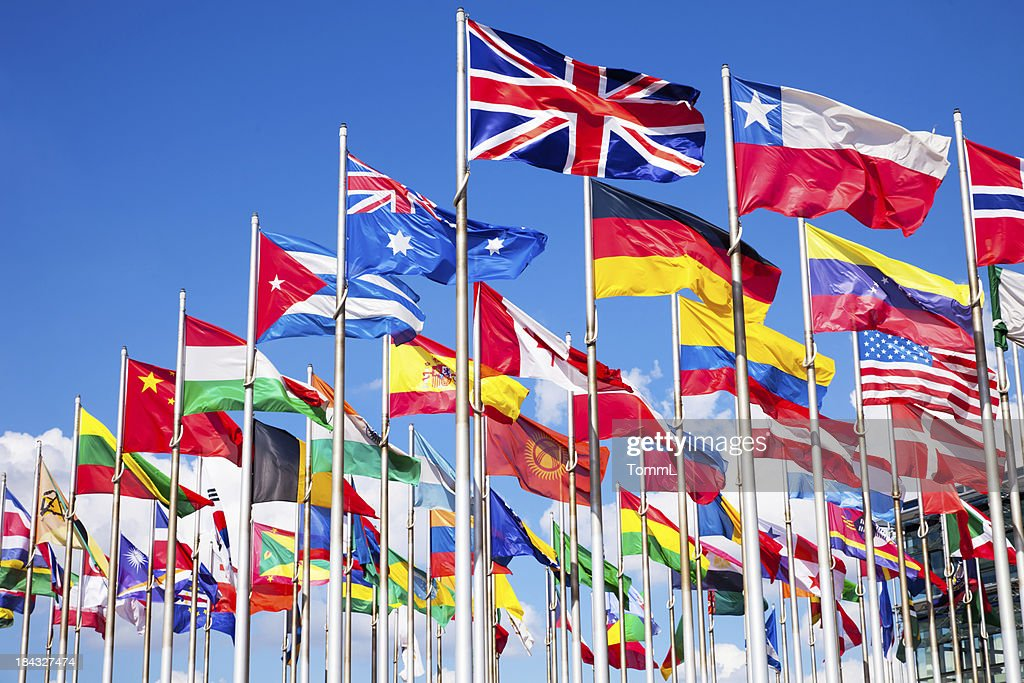 International flags : Stock Photo