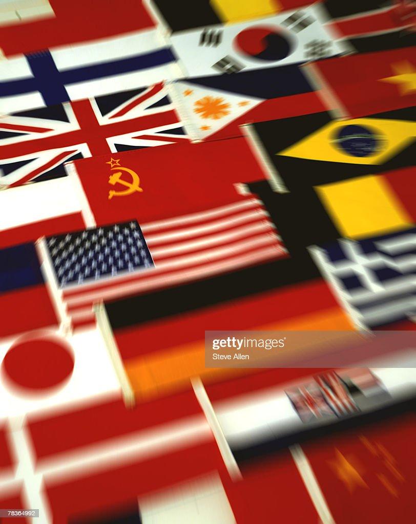 International flags : Stock Photo