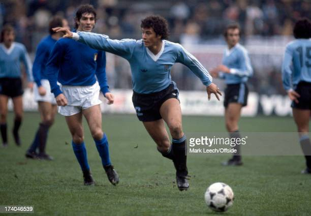 International Football Italy v Uruguay Domingo Caceres