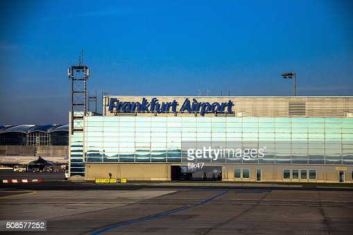 L'Aeroporto internazionale di Francoforte, l'aeroporto in Germania : Foto stock
