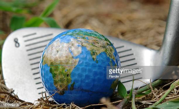 International Golf Ball & de hierro