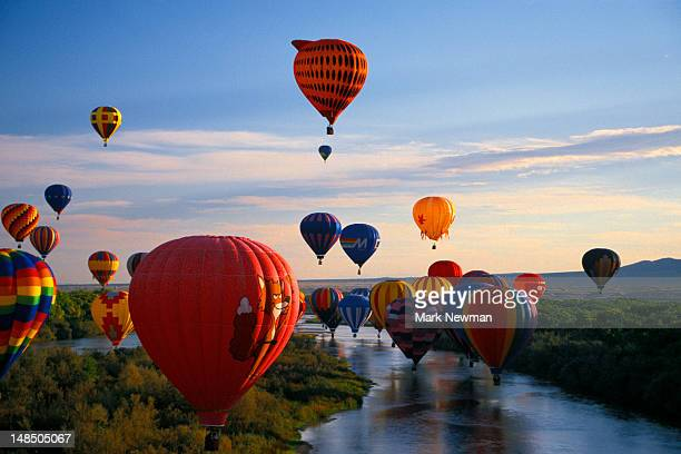 International hot air balloon fiesta.