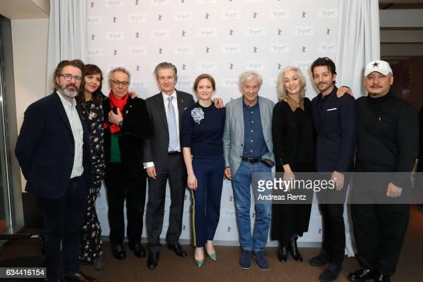 International Jury Members Olafur Eliasson Maggie Gyllenhaa Festival Director Dieter Kosslick CEO of Glashuette Original Thomas Meier International...