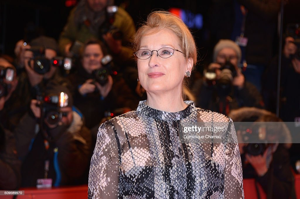 International jury president Mery Streep attends the 'Hail, Caesar!' premiere during the 66th Berlinale International Film Festival Berlin at Berlinale Palace on February 11, 2016 in Berlin, Germany.