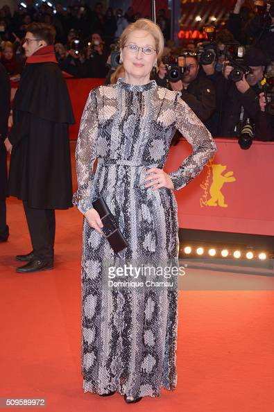 International jury president Mery Streep attends the 'Hail Caesar' premiere during the 66th Berlinale International Film Festival Berlin at Berlinale...