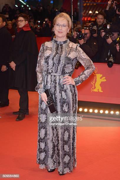International jury president Meryl Streep attends the 'Hail Caesar' premiere during the 66th Berlinale International Film Festival Berlin at...