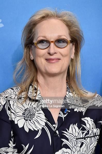International Jury President Meryl Streep attends the International Jury photo call during the 66th Berlinale International Film Festival Berlin at...