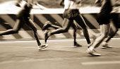 international marathon runner