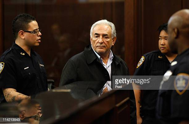 International Monetary Fund chief Dominique StraussKahn appears in federal court May 16 2011 in New York City International Monetary Fund chief...