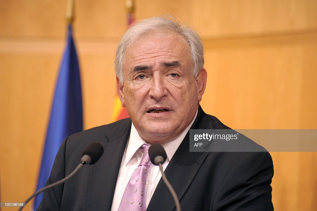 International Monetary Fund (IMF) head Dominique Strauss-Kahn is seen on June 16, 2010 in Paris at the symposium 'Europe/ China: Facing our common challenges' organised in Paris by the French directorate-general of the Treasury.